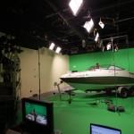 Boat in Studio