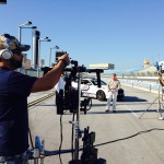 Set-up at Homestead-Miami Speedway